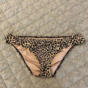 Victoria's Secret leopard print bikini bottom